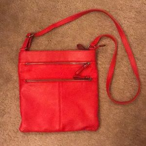 Merona Red Crossbody Bag